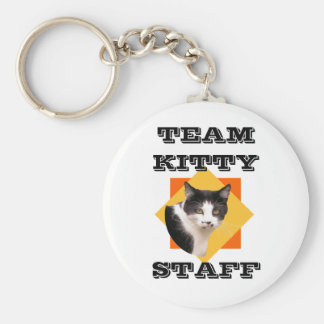 Team Kitty STAFF Keychain