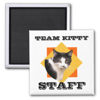 Team Kitty STAFF Magnet