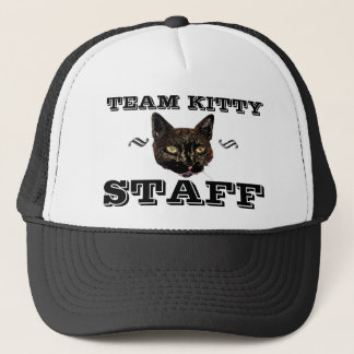 Team Kitty STAFF Trucker Hat
