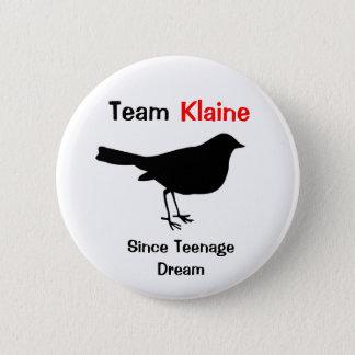 Team Klaine 2 Inch Round Button
