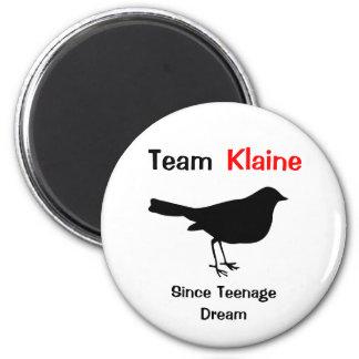 Team Klaine 2 Inch Round Magnet