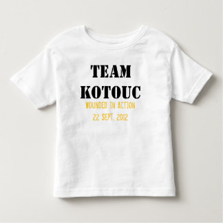 Team Kotouc for Toddlers T Shirts