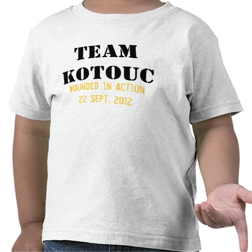 Team Kotouc for Toddlers Tshirt