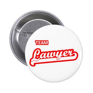 Team Lawyer 2 Inch Round Button