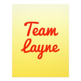 Team Layne Flyer