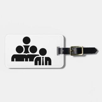 Team leader boss luggage tag