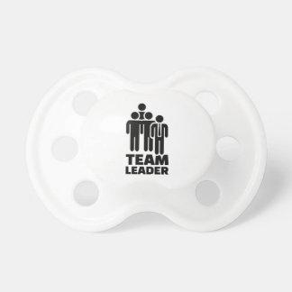 Team leader pacifiers