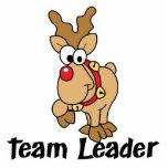 Team Leader Rudolph Acrylic Cut Out
