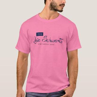 Team Leia Schwartz T-Shirt