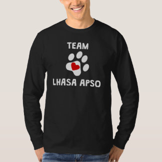 Team Lhasa Apso T-Shirt