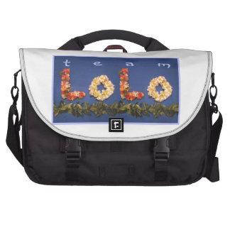 Team Lolo Gear Laptop Messenger Bag