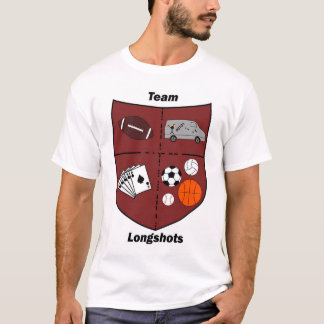 Team Longshots - Shield Logo T-Shirt