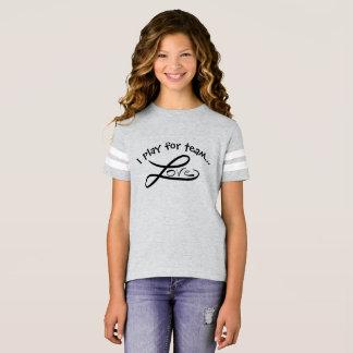 Team Love Girls' Football Shirt