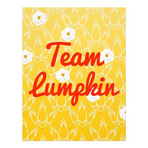Team Lumpkin Full Color Flyer