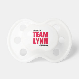 Team Lynn Pacifier