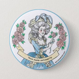 Team Marie Antoinette 3 Inch Round Button