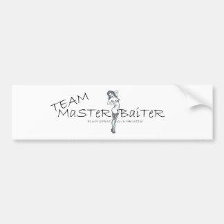 Team Master Baiter Bumper Sticker