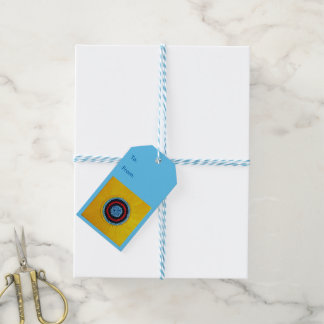 Team Matthew Sunflower for Autism Gift Tags