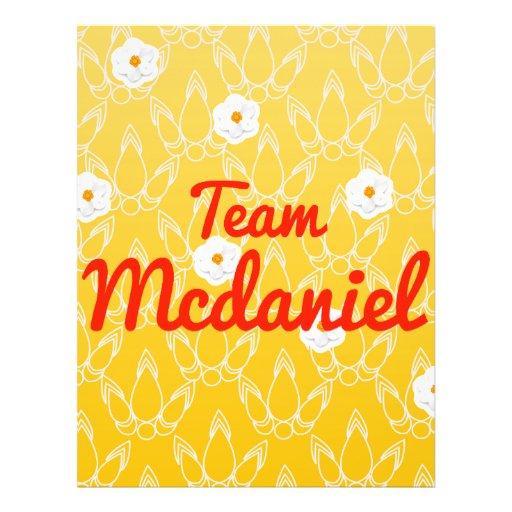 Team Mcdaniel Full Color Flyer