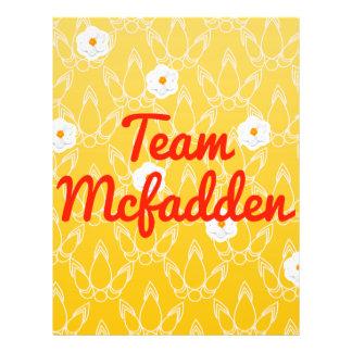 Team Mcfadden Flyer