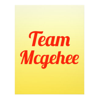 Team Mcgehee Flyer