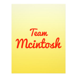 Team Mcintosh Flyer