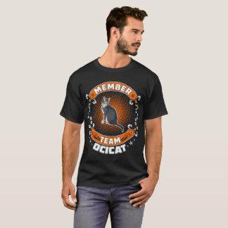 Team Member Ocicat Cat Pets Love Tshirt