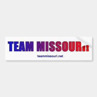 Team Missouri Proud! Bumper Sticker