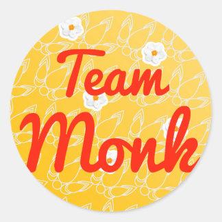 Team Monk Stickers
