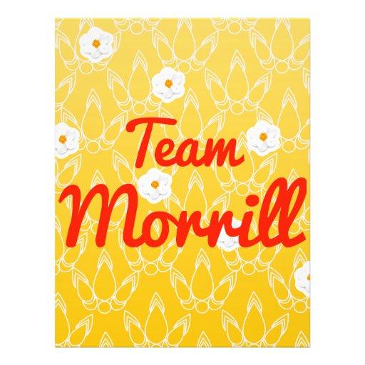 Team Morrill Custom Flyer