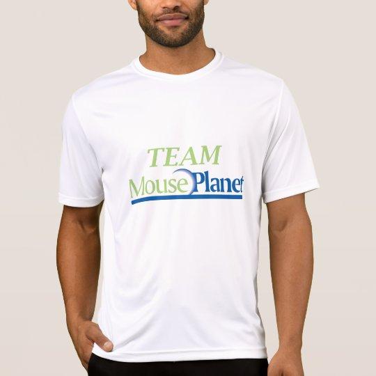 Team MousePlanet Men's microfiber T-shirt