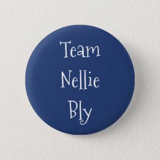Team Nellie Bly 2 Inch Round Button