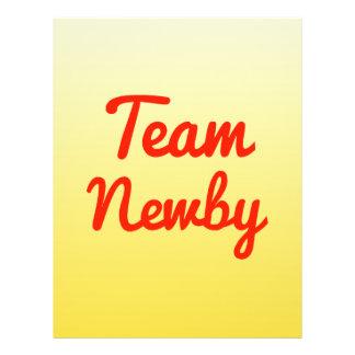 Team Newby Flyer Design