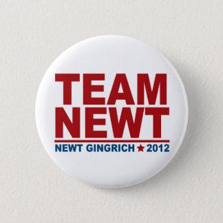 Team Newt Gingrich 2012 2 Inch Round Button