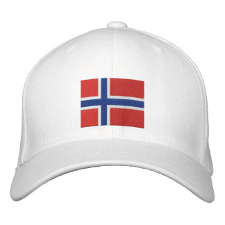 TEAM Norway 2010 Dated Customizable Embroidered Baseball Caps
