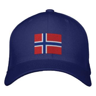 TEAM Norway Custom Date Personalized Baseball Cap