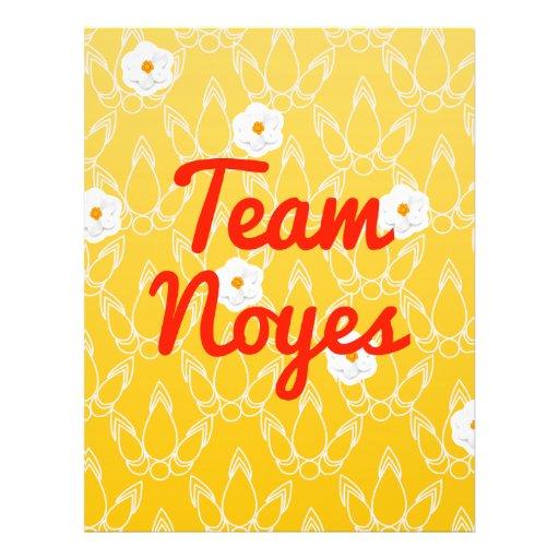 Team Noyes Full Color Flyer