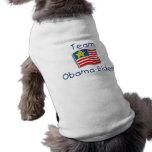 Team Obama Biden Pet Tee