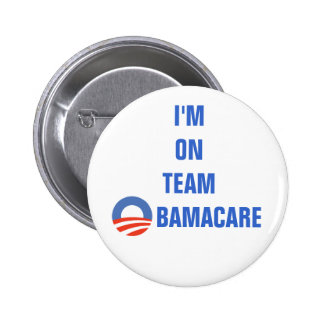 TEAM OBAMACARE - BUTTON