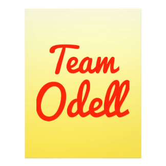 Team Odell Flyer Design