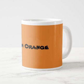 Team Orange Large Coffee Mug