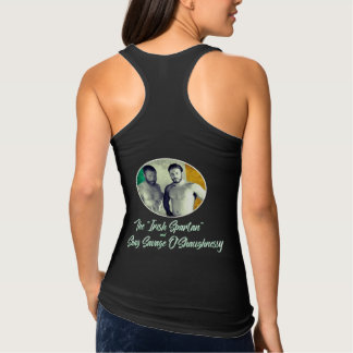 Team o'shaugnessy fighting racerback fitted tank top
