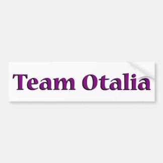 Team Otalia Bumper Sticker