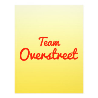 Team Overstreet Flyer Design
