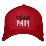 Team Pain Hat Embroidered Baseball Caps