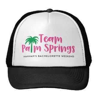 Team Palm Springs Trucker Hat