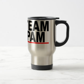 Team Pam M.png Travel Mug