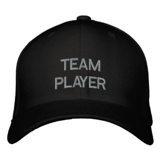 'TEAM PLAYER'  CAP