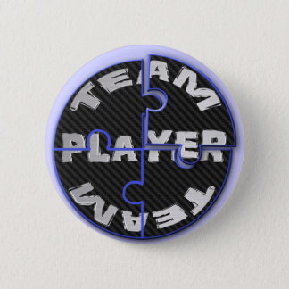 Team Player Puzzles 2 Inch Round Button
