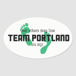 Team Portland Stickers